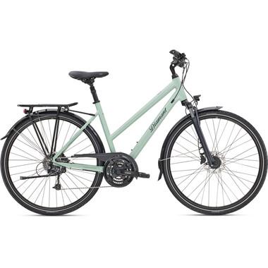 Vélo de Voyage DIAMANT UBARI DELUXE TRAPEZ Femme Vert 2020